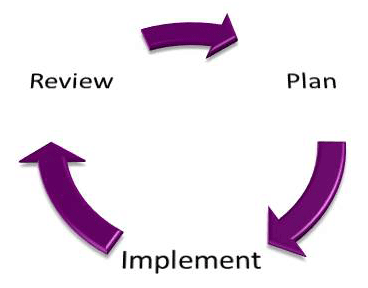 Analysis-plan-implement-circle
