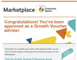 Growth Voucher Advisers